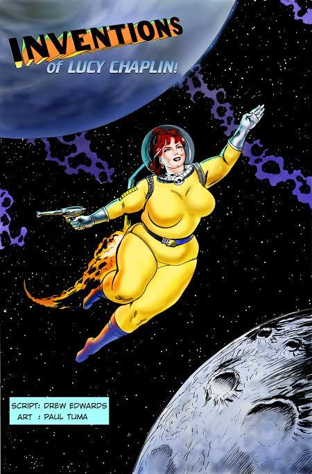 Lucy Chaplin- Science Starlet Comic Book Review