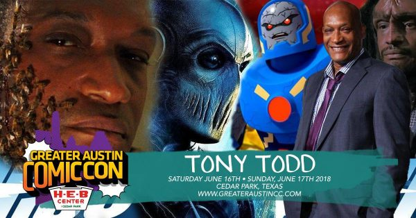 Candyman, Tony Todd, Greater Austin Comic Con