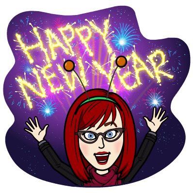 Gemmi Galactic Happy New Year Alien Girl