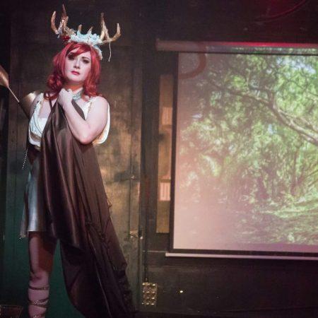Gemmi Galactic Artemis Burlesque Mythology